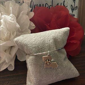 James Avery hook on bracelet and charm
